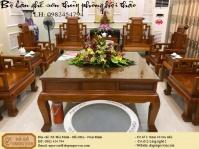 Bộ bàn ghế sơn thủy phòng hội thảo